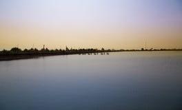 Flod i thai Arkivfoton