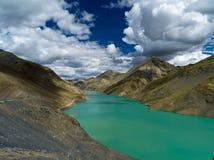 Flod i Tibet Royaltyfri Bild