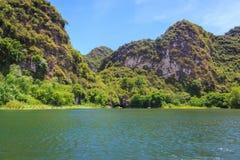 Flod i Trang Royaltyfri Foto