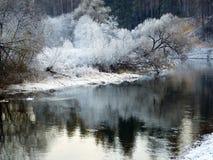 Flod Istra Royaltyfri Foto