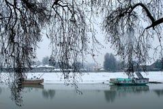 Flod Jhelum Arkivfoton
