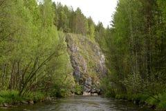 Flod Kalia arkivfoton