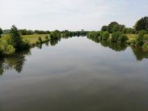 Flod Kinzig arkivbild