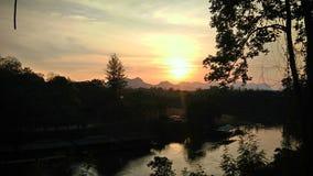 Flod Kwae Noi Arkivfoto