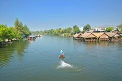 Flod Kwai Royaltyfri Foto
