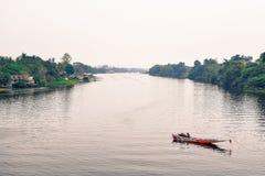 Flod Kwai royaltyfri bild