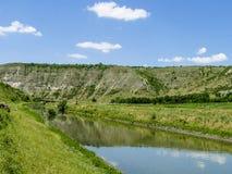 Flod Lanscape Arkivfoto