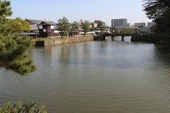 Flod - Matsue - Japan Royaltyfria Foton