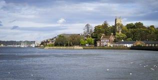 Flod Medway på Chatham Royaltyfria Foton