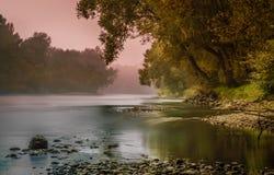 Flod Mura Royaltyfri Fotografi