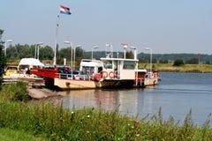 Flod Nederrijn fotografering för bildbyråer