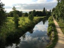 Flod Nene Royaltyfria Bilder