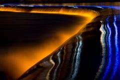 Flod och ljus Arkivbilder