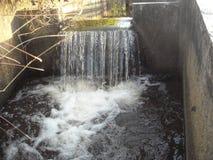 Flod och vattendrag royaltyfri fotografi