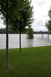 Flod på Donau Royaltyfri Bild
