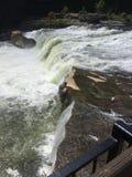 Flod på Ohiopyle Royaltyfri Bild