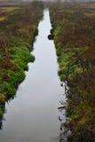 Flod på höst Royaltyfri Fotografi