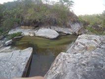 Flod playon Royaltyfri Foto