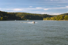 Flod Rhein Fotografering för Bildbyråer