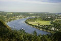 Flod Rhein Arkivfoto