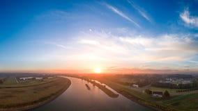 Flod Rijn Arkivbild