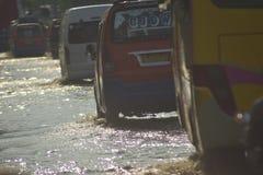 FLOD Semarang Royaltyfria Bilder