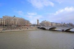 Flod Sena i Paris Royaltyfri Foto