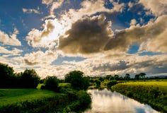 Flod Severn Royaltyfri Fotografi