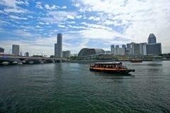 flod singapore Royaltyfri Foto