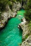 Flod Soca Arkivfoton