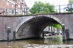 Flod som bygger fartyg 14 för Europa landskapsarkitekturvatten Arkivfoton