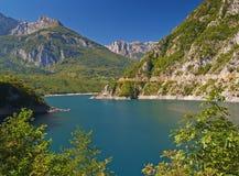 Flod som en fjord Royaltyfri Foto
