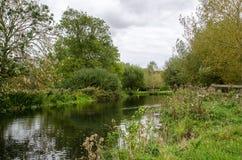 Flod Stour Royaltyfria Foton