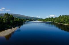 flod sweden Royaltyfria Bilder