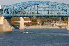 flod tennessee Fotografering för Bildbyråer