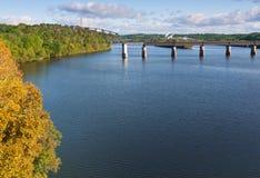 flod tennessee Royaltyfria Foton