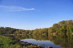 flod tennessee Arkivfoto