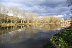 Flod Ter Arkivfoto