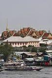 flod thailand för bangkok chaophraya Arkivfoto