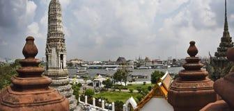 flod thailand för bangkok chaophraya Royaltyfri Bild
