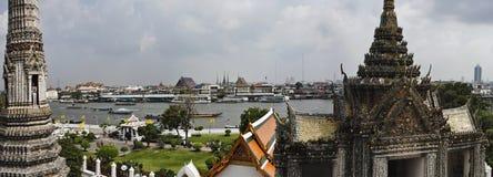 flod thailand för bangkok chaophraya Royaltyfri Fotografi