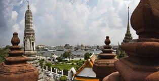 flod thailand för bangkok chaophraya Arkivbilder
