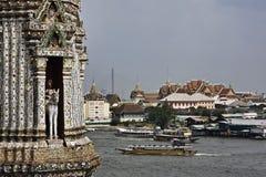 flod thailand för bangkok chaophraya Royaltyfria Foton