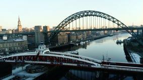 Flod Tyne Newcastle Arkivfoton