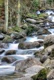 Flod Ullu-Murudzhu norr Kaukasus Ryssland Royaltyfri Foto