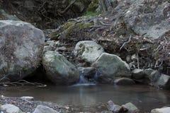 Flod Ulu Uzen i Alushta crimea Royaltyfri Fotografi