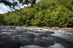 flod västra virginia Arkivbilder