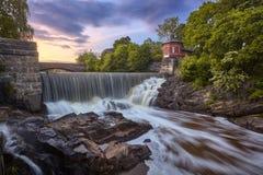 flod Vanta Royaltyfri Fotografi