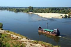 flod vistula Royaltyfri Foto