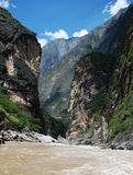 flod yangtze Arkivfoto